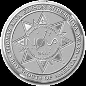 Thomas Alva Edison Supernova Medal