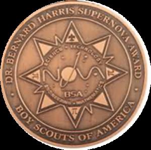Benard Harris Supernova Medal