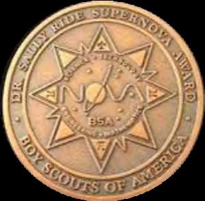 Sally Ride Supernova Medal