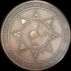 Luis W. Alvarez Supernova Medal